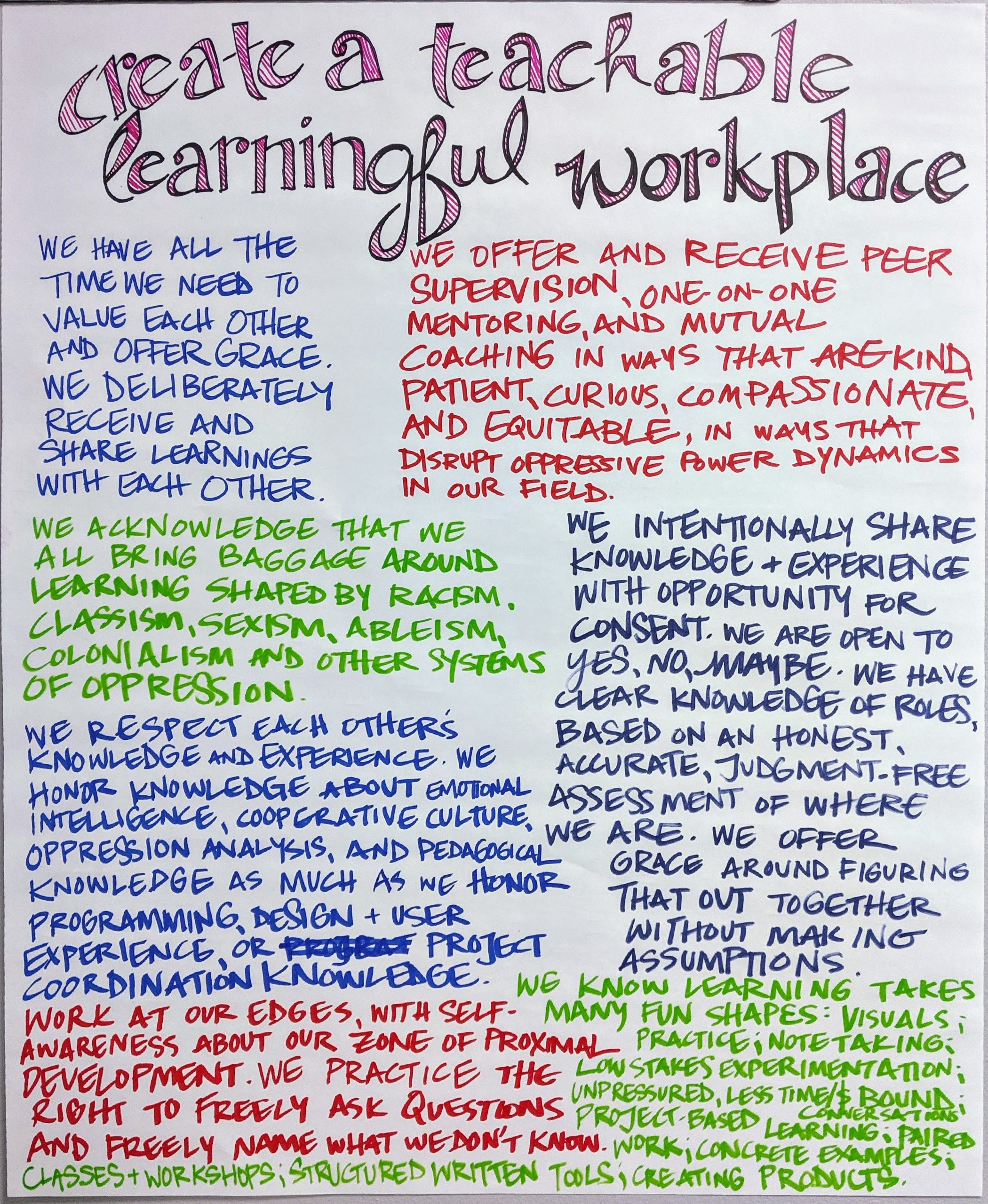teachable-learningful-workplace-poster
